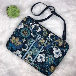 Vera Bradley laptop hard-case Mod floral blue